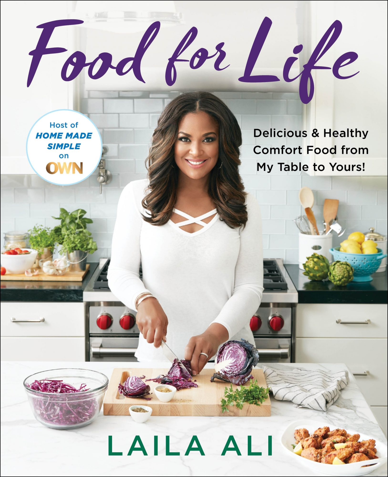 Laila Ali Food For Life Cover