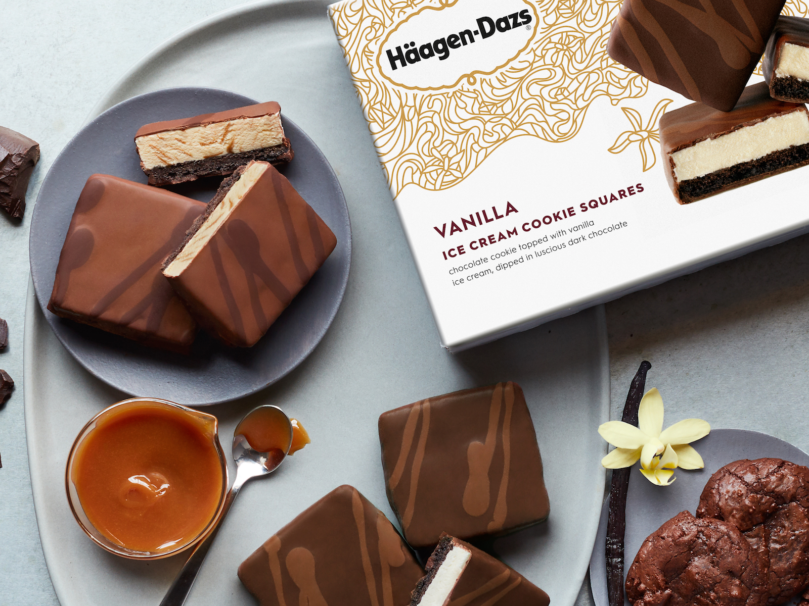 Häagen-Dazs Released 12 New Flavors, Plus Cookie Squares