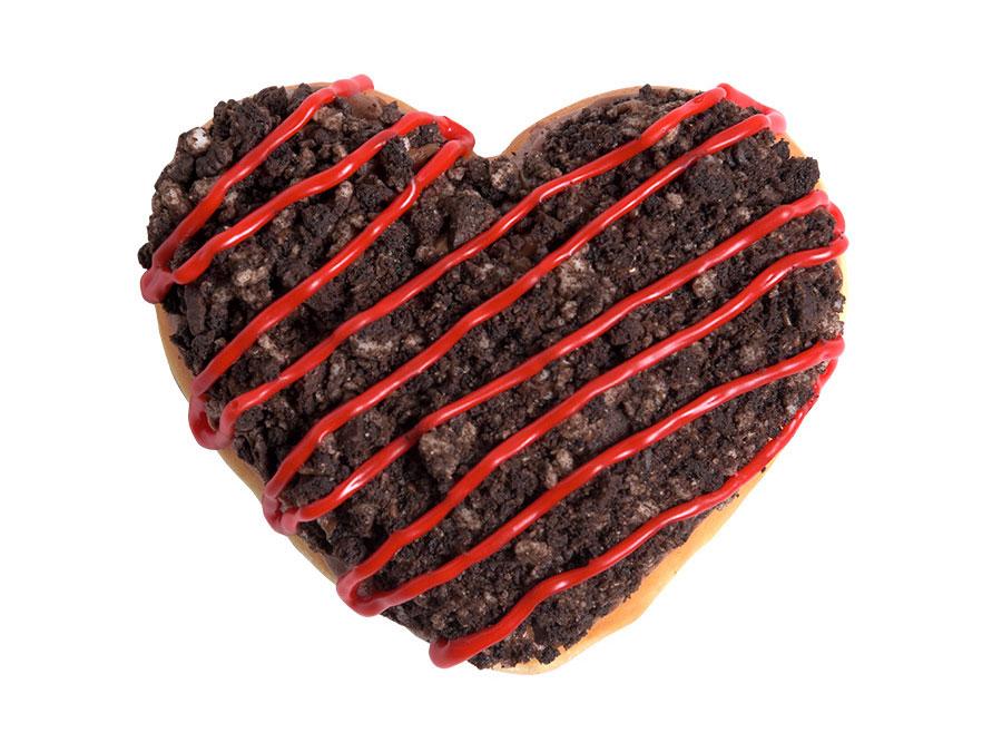 Krispy Kreme's Oreo Doughnut May Be the Sweetest Way to Give Your Heart Away