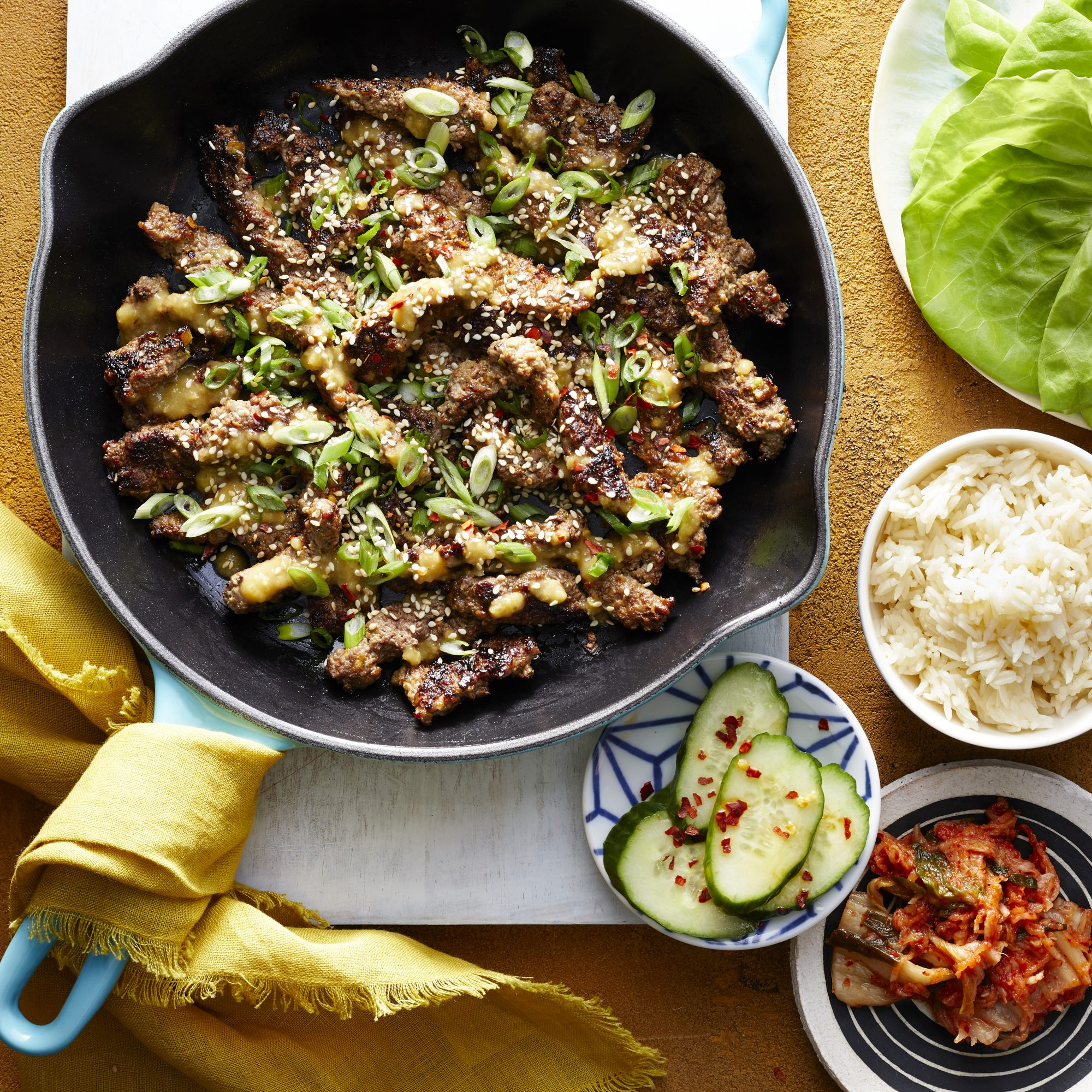 Cubed Steak Bulgogi image