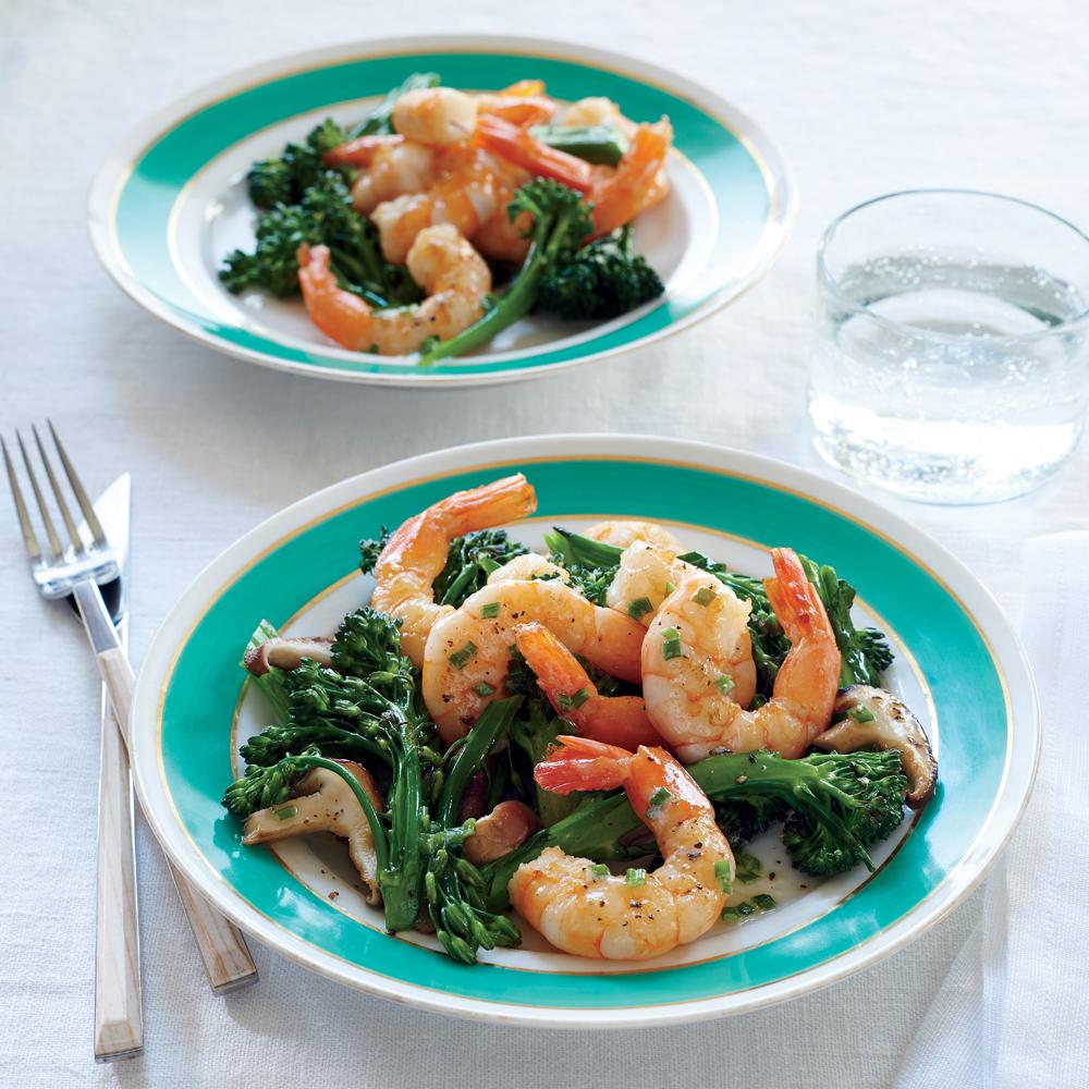 ... , Broccolini, and Foaming Chive Butter Sauce Recipe | MyRecipes.com
