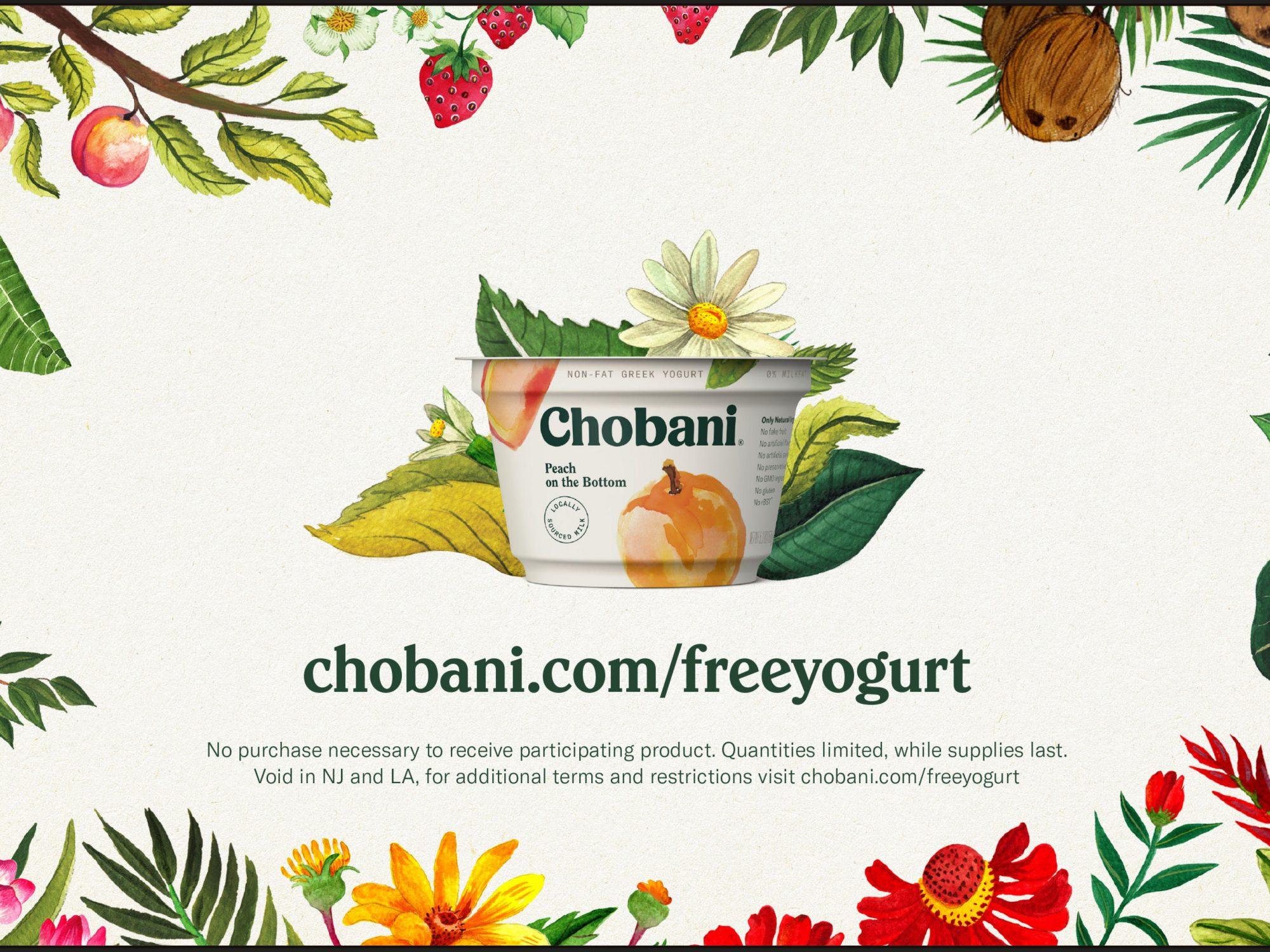 Chobani Is Giving Away Free Yogurt for Their 10th Anniversary 1802w-Chobani-Coupon