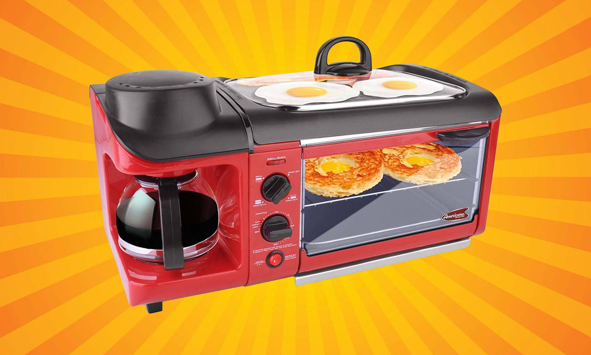EC: Score the Retro 3-in-1 Breakfast Station for 20 Percent Off