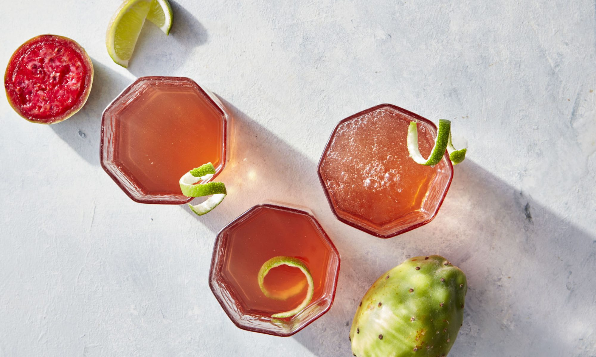 Cooking Light July 2017Lets Get Cooking-BeveragesCactus Water and Tequila Cocktail