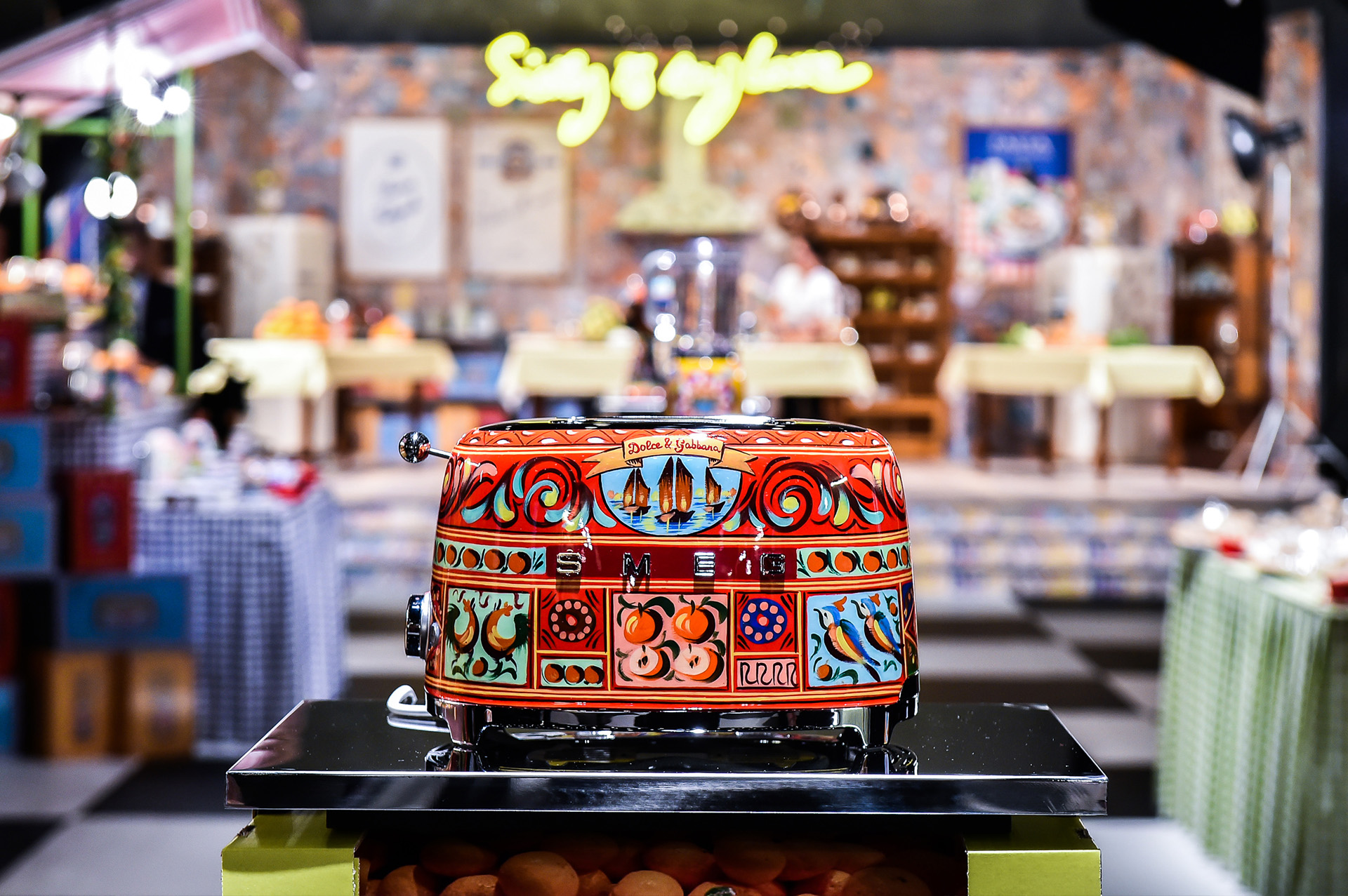 EC: Dolce & Gabbana Is Making Toasters Now