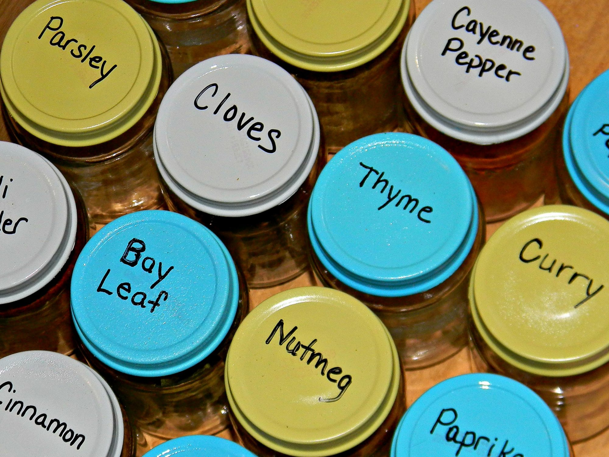 EC: Organize Your Life with Spice Racks