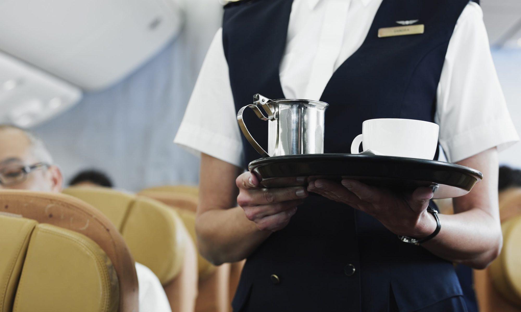 airplane emergency landing coffee maker