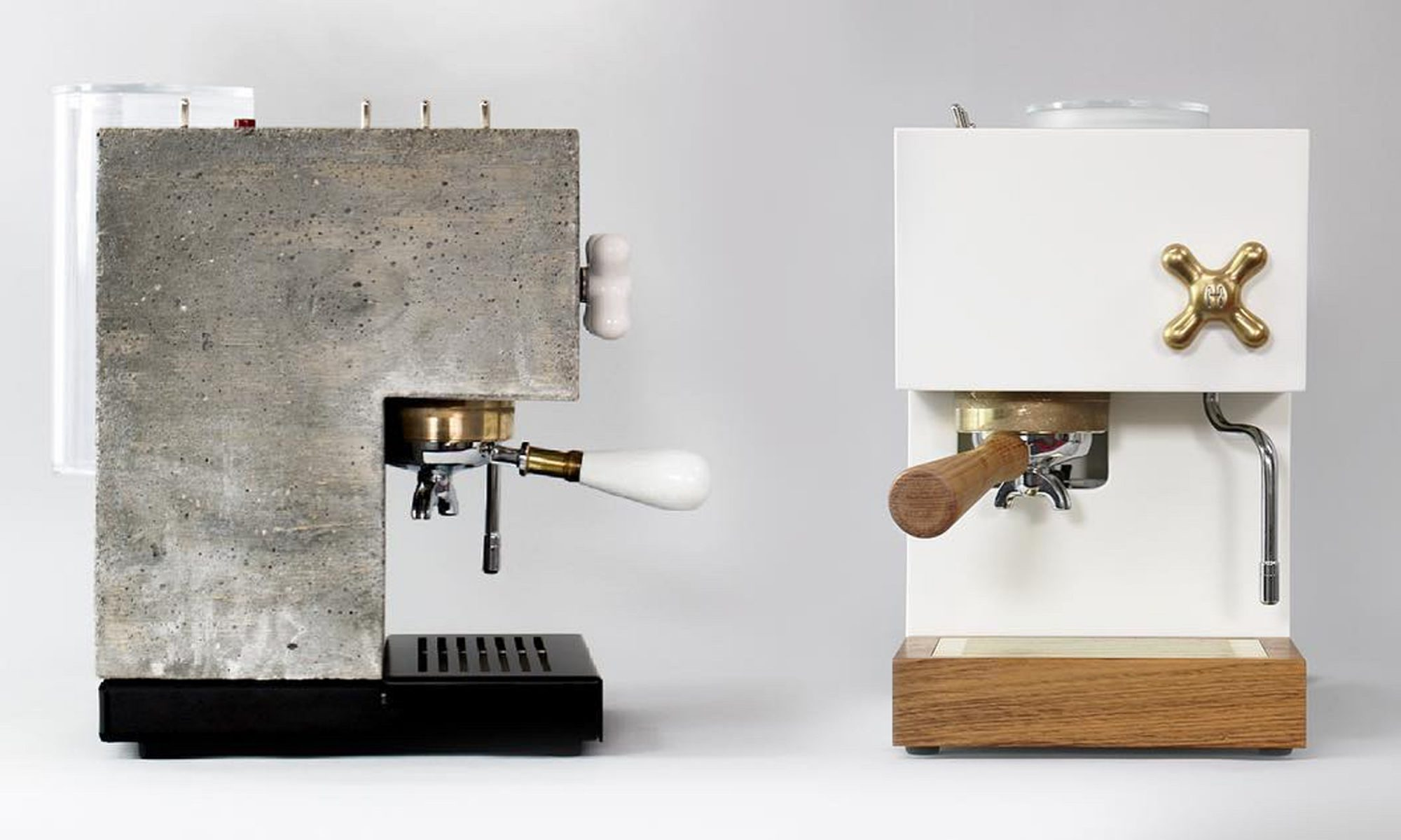 anza brutalist coffee maker