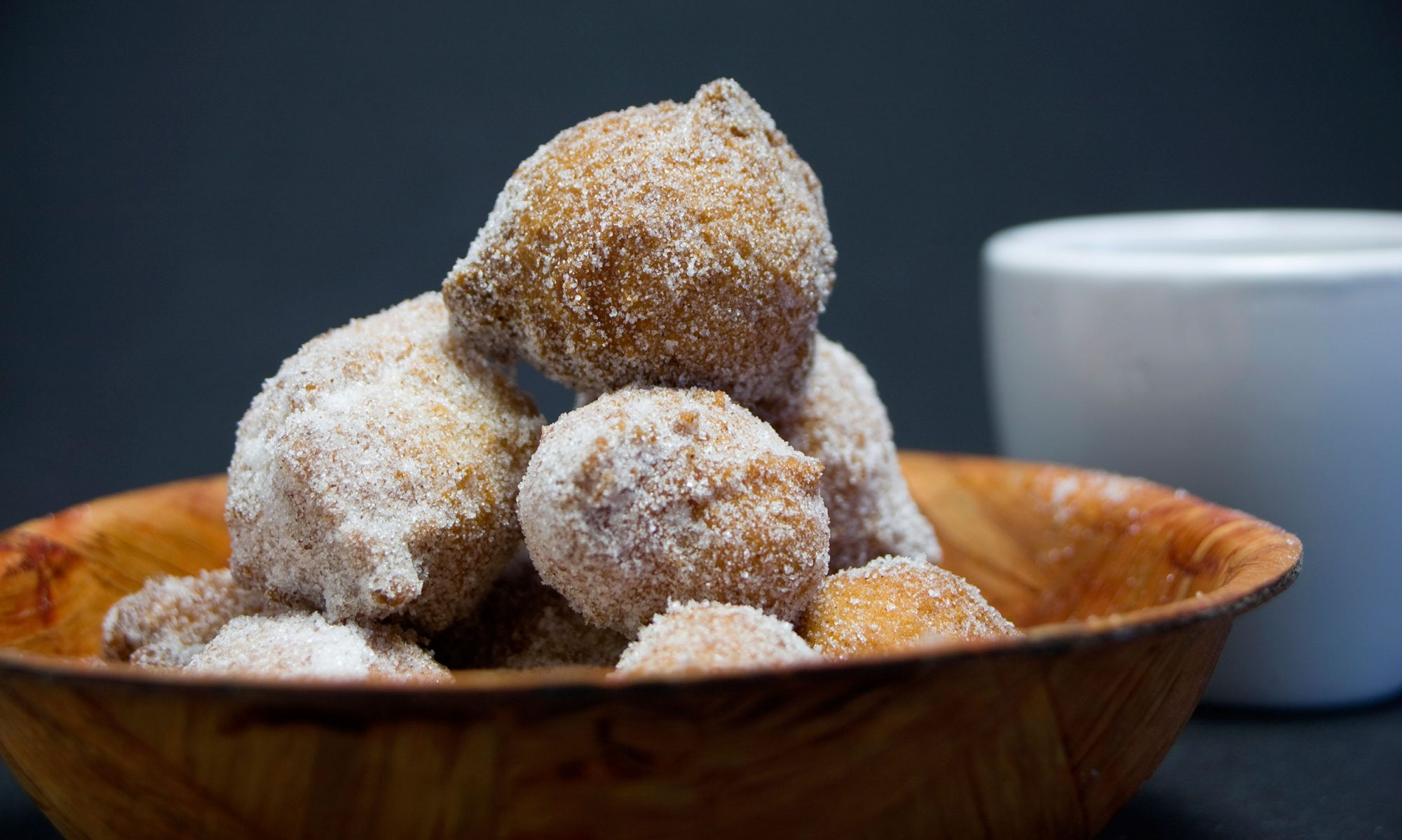Applesauce Doughnuts Are an Appropriate Way to Accept Fall