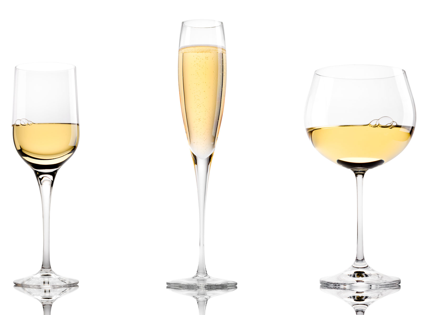 Three White Wines