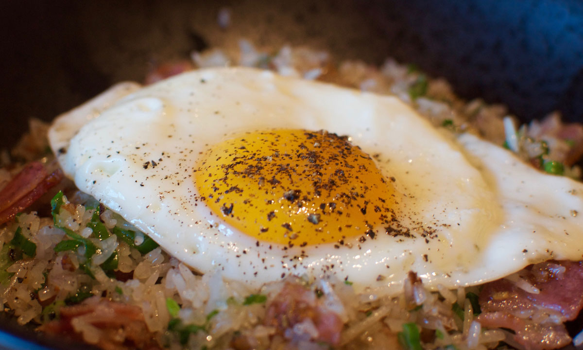 EC: This Bacon and Egg Fried Rice Recipe Is a New Twist On an Old Favorite