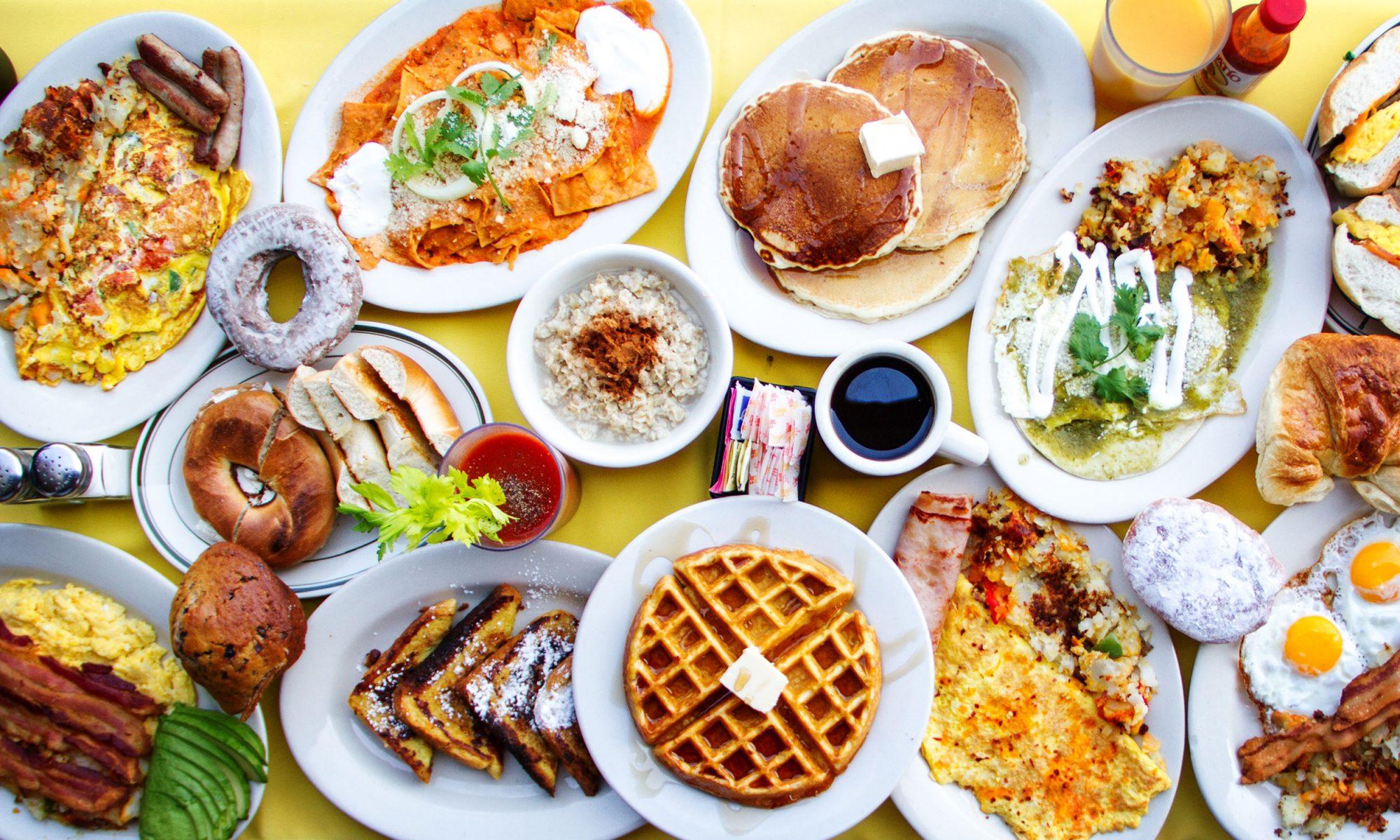 basic breakfast recipes landing page