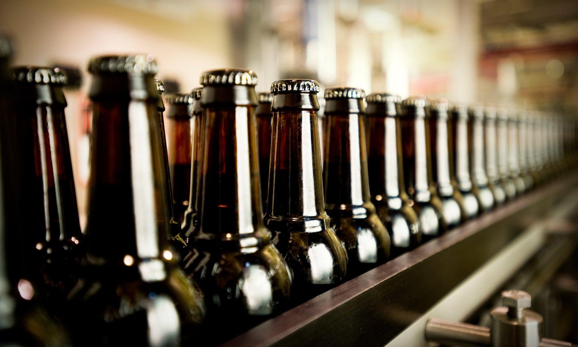 beer bottles drone delivery