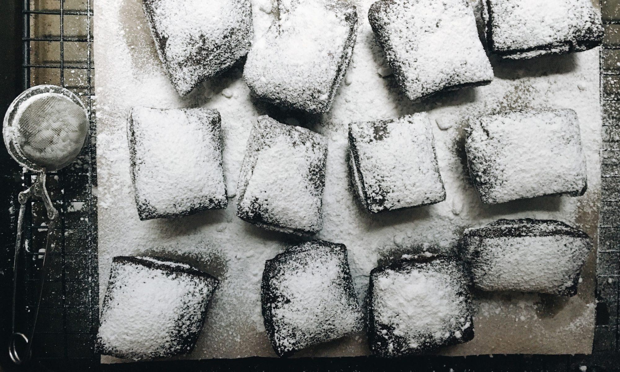 Chocolate Buttermilk Beignets