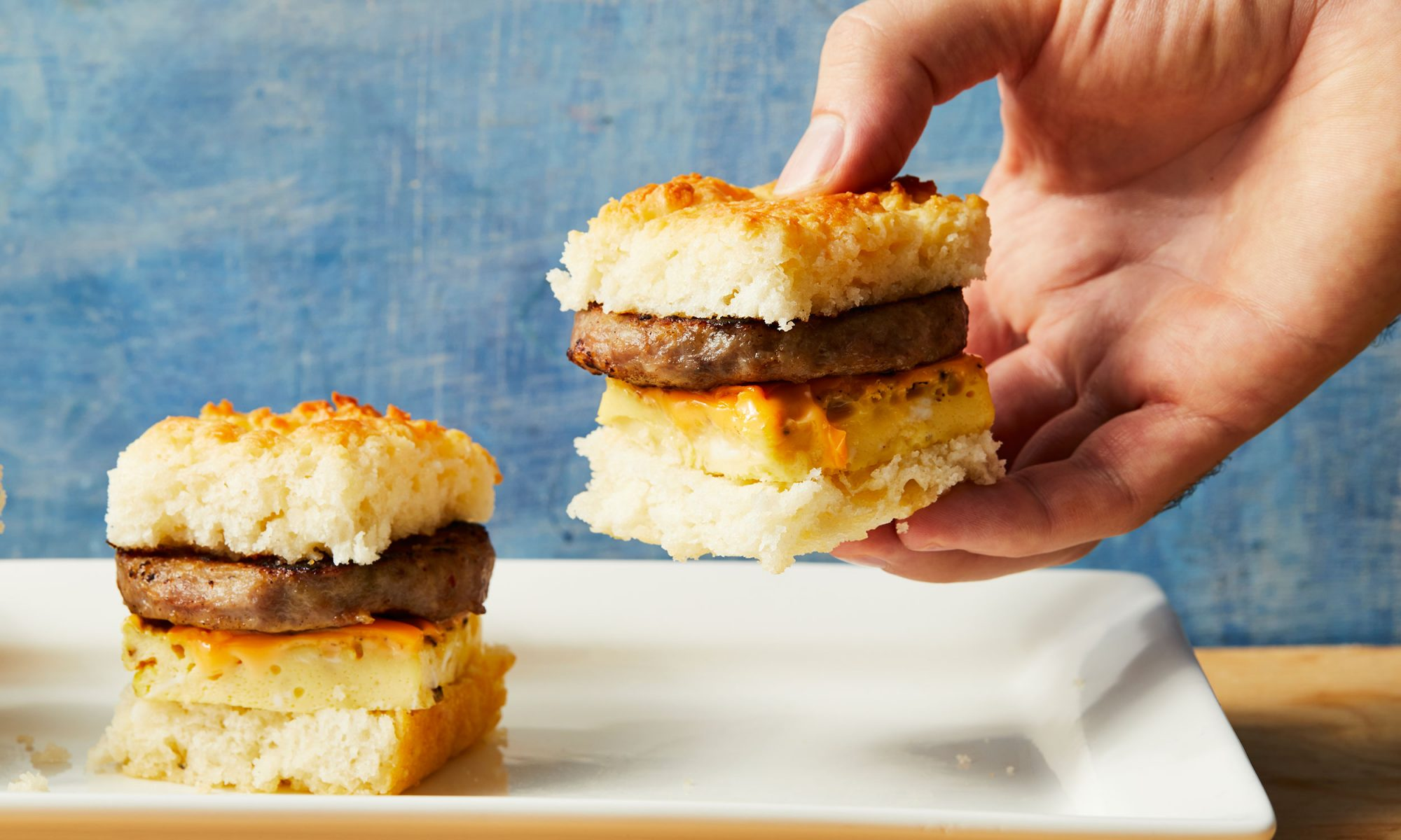 Breakfast Biscuit Sliders