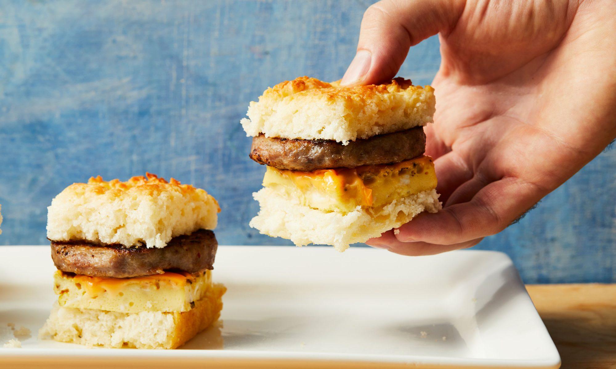breakfast biscuit sliders video hero