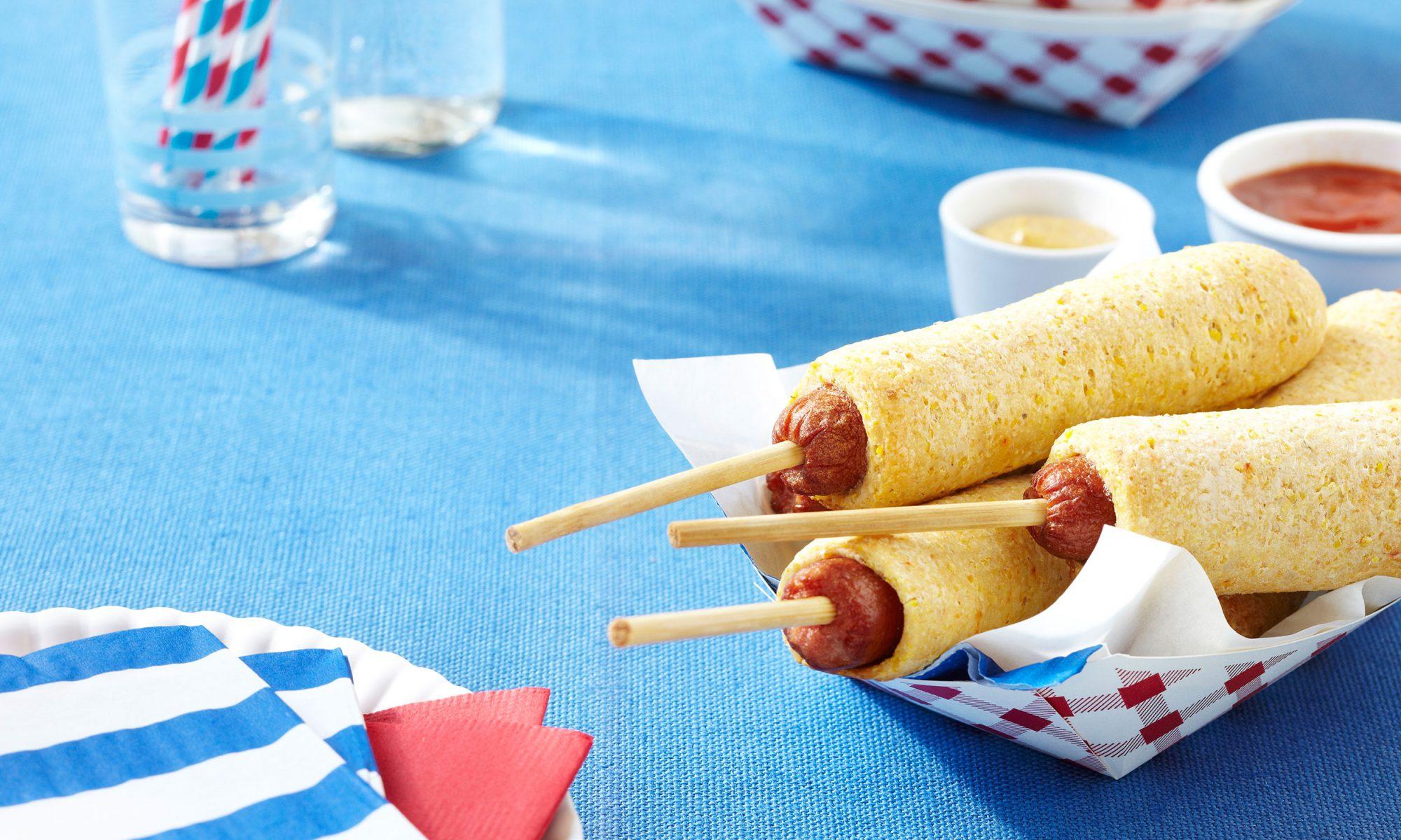 breakfast corn dogs