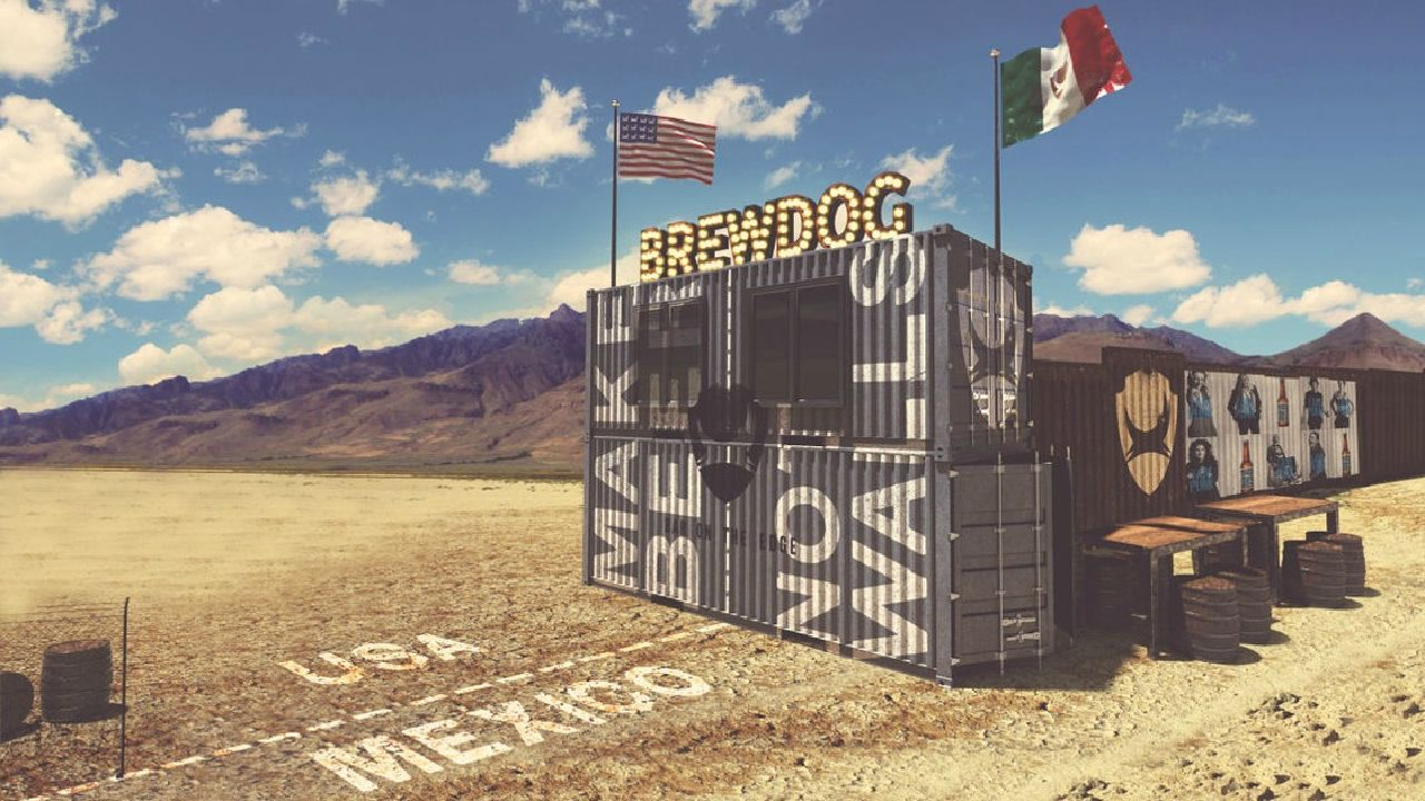 EC: This Bar Is Being Built on the US-Mexico Border