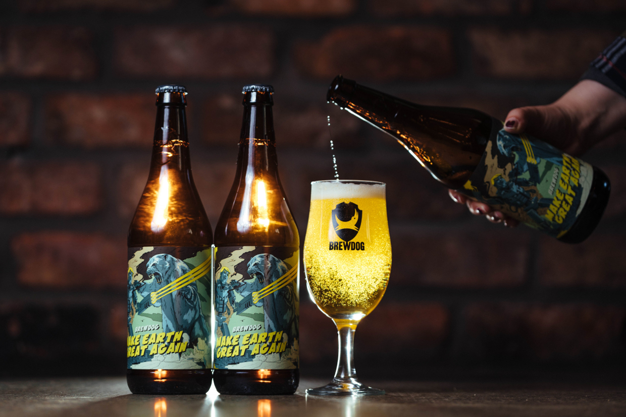 EC: This Beer Is Made with Water from Melting Icecaps