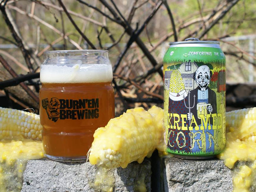 Burn 'Em Brewing Kreamed Corn