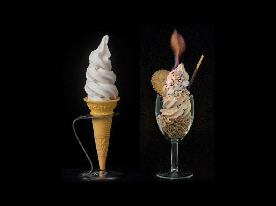 EC: Japan's Non-Melting Soft Serve Ice Cream Can Even Be Lit on Fire