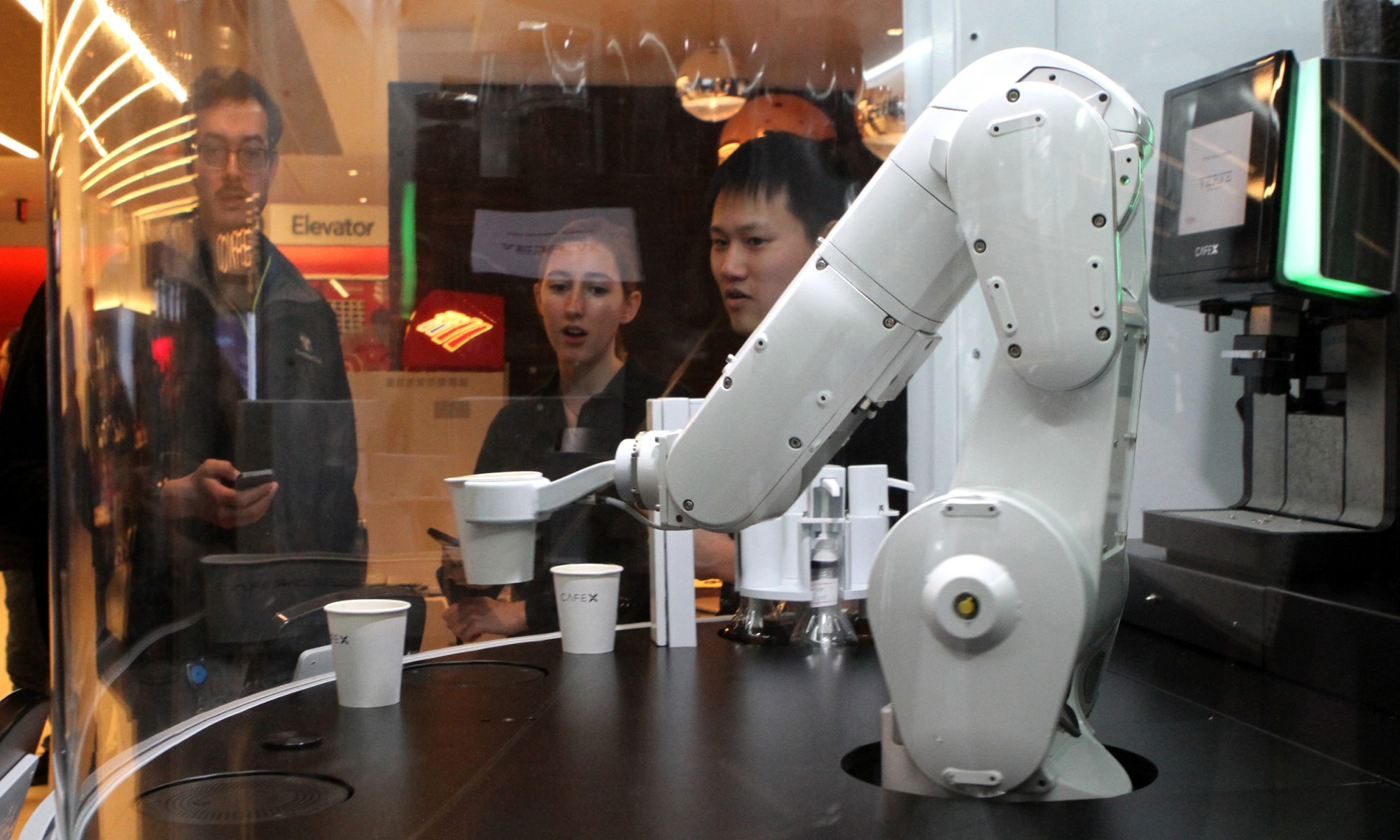 EC: Gordon the Robot Barista Wants to Make You a Latte