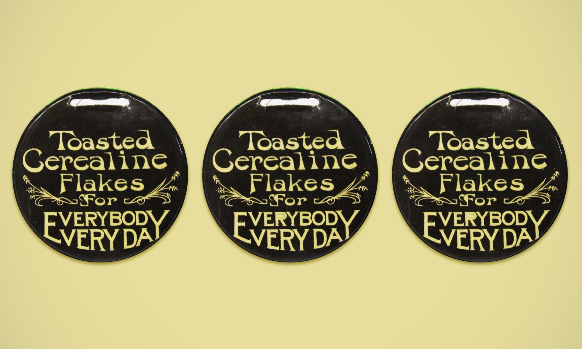 Cerealine button