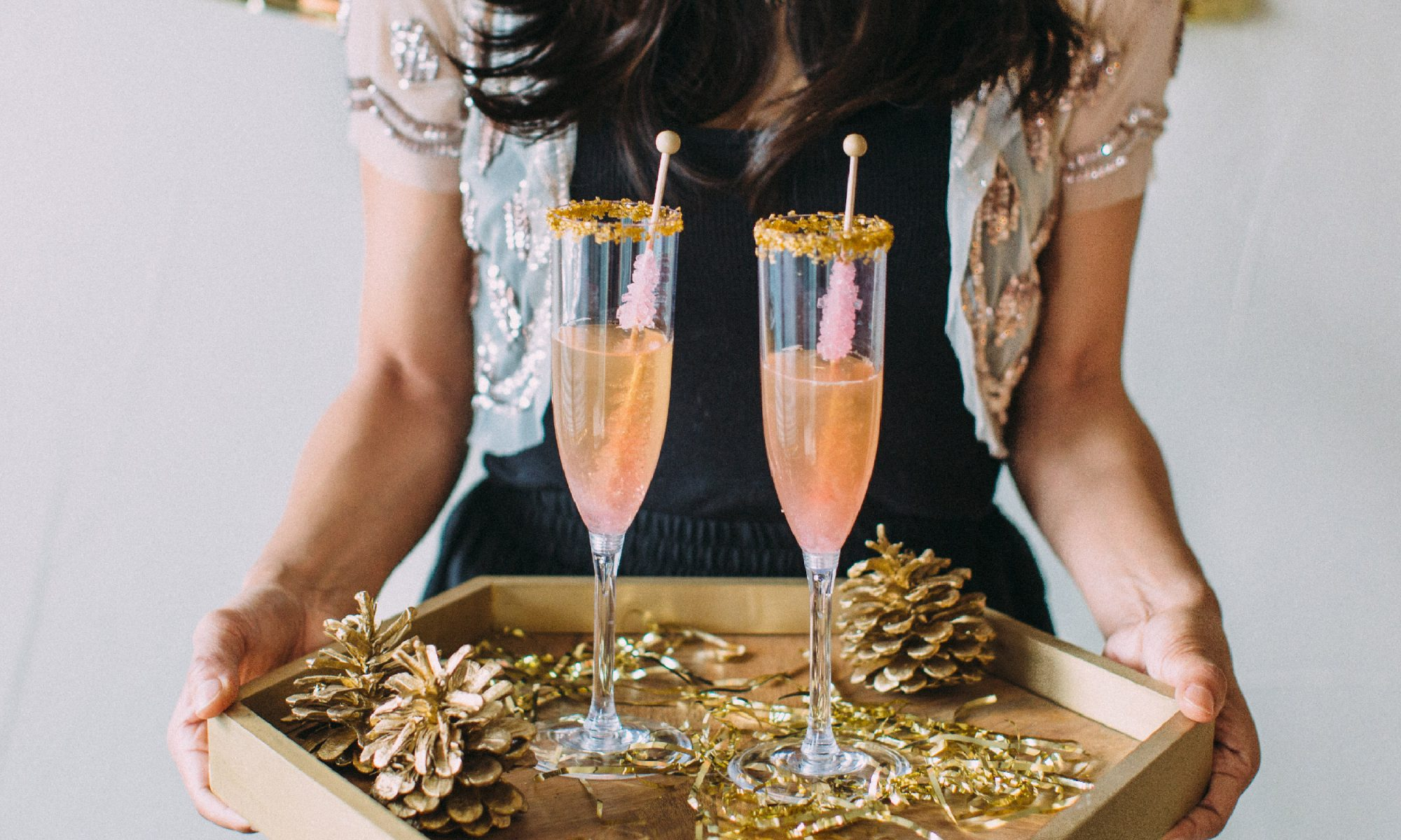 EC: 22 Champagne Cocktails For a Crowd