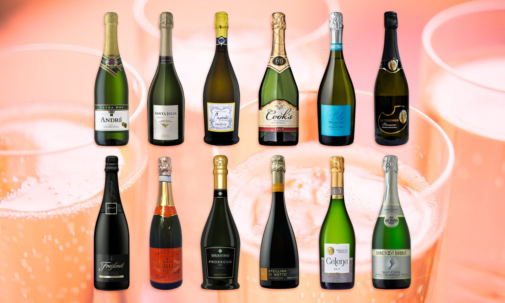 EC: I Tried 12 Cheap Sparkling Wines and Here's the Best One