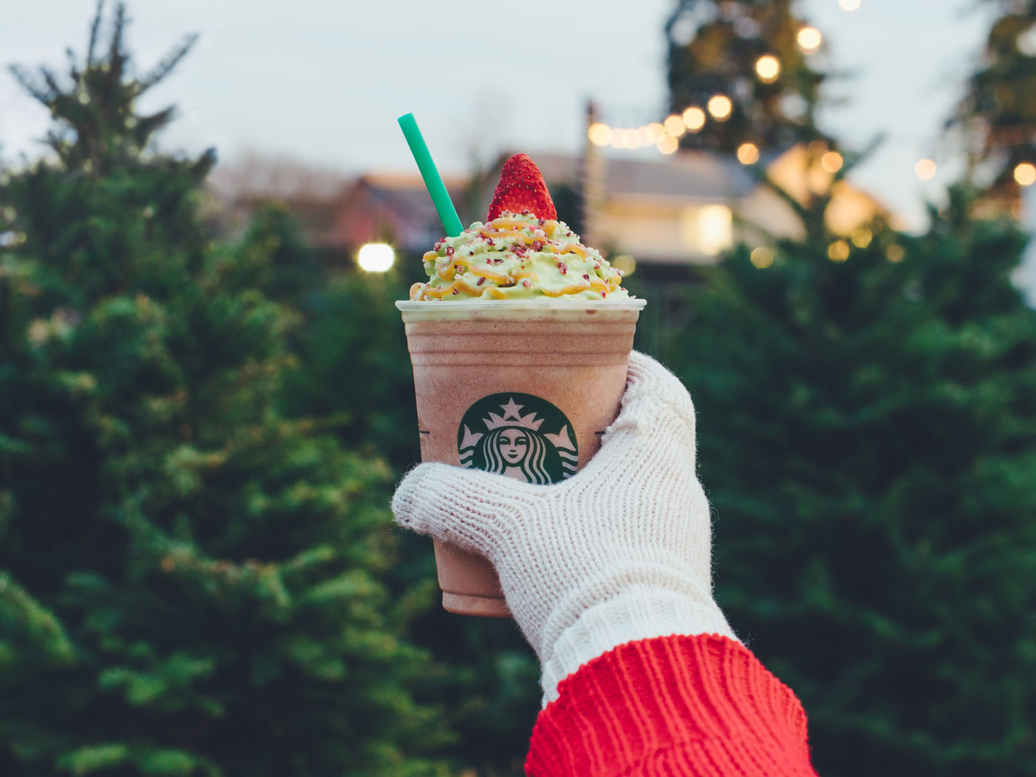 Starbucks' Christmas Tree Frappuccino Joins the Holiday Menu for a Limited Time