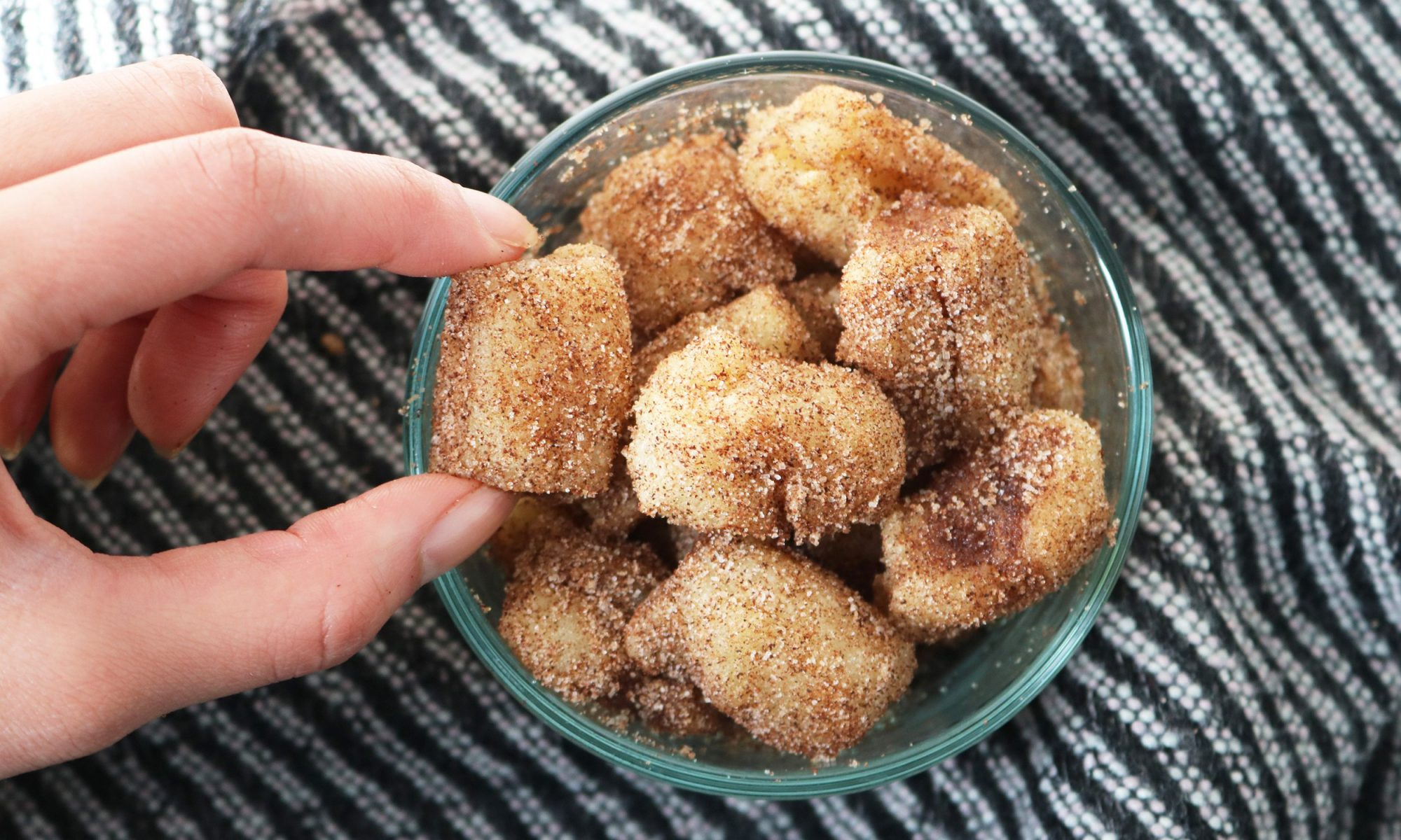 How to Make 24 Mini Churros in 15 Minutes