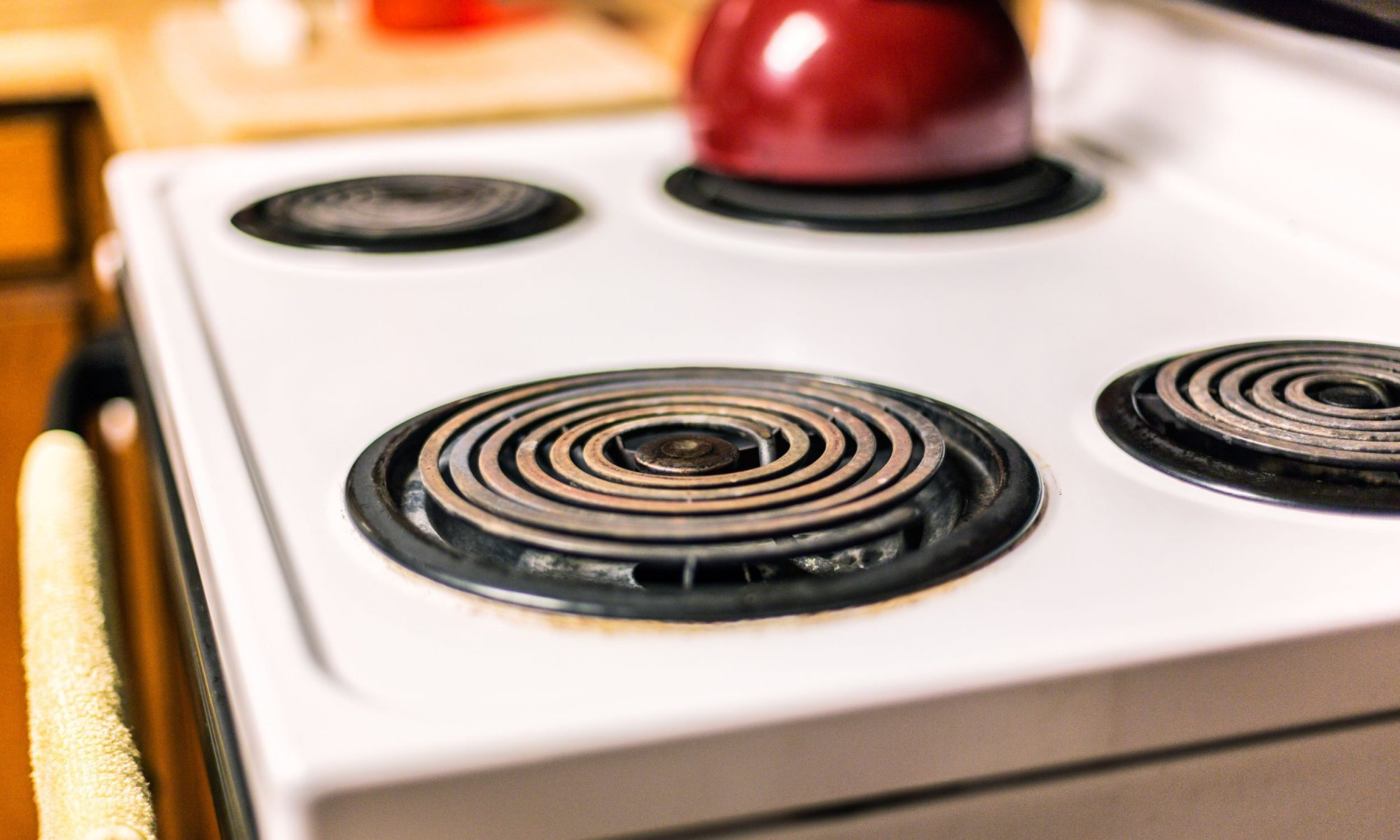 Clean Electric Stove