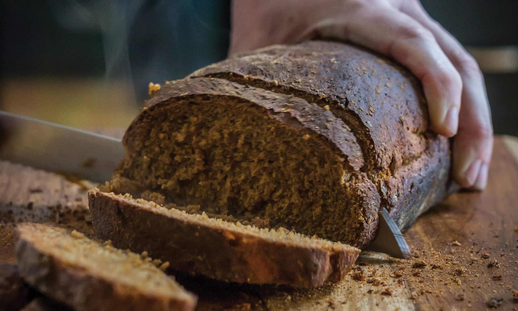 Make Your Next Sandwich with Cornmeal and Molasses Bread