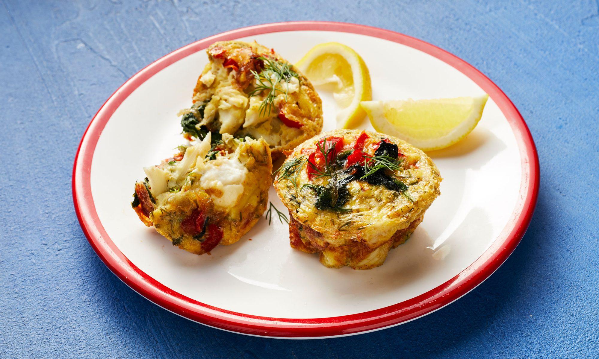 crab egg muffins video hero