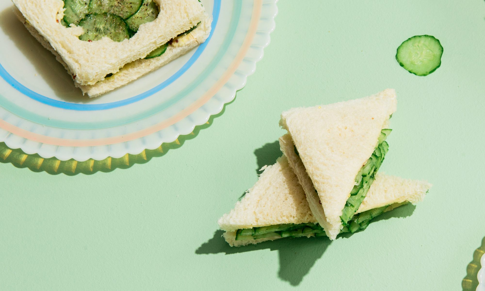 Cucumber Sandwiches for Fancy Times