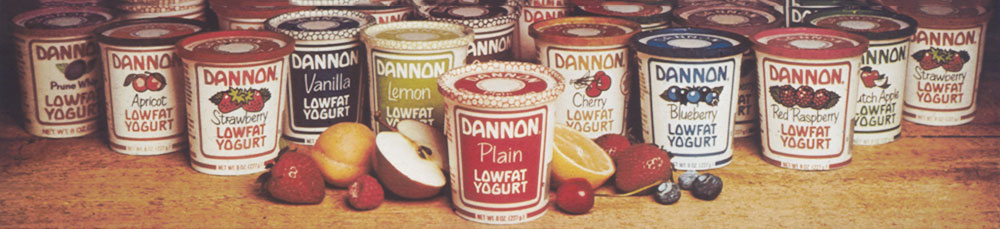 dannon yogurt flavors from archive