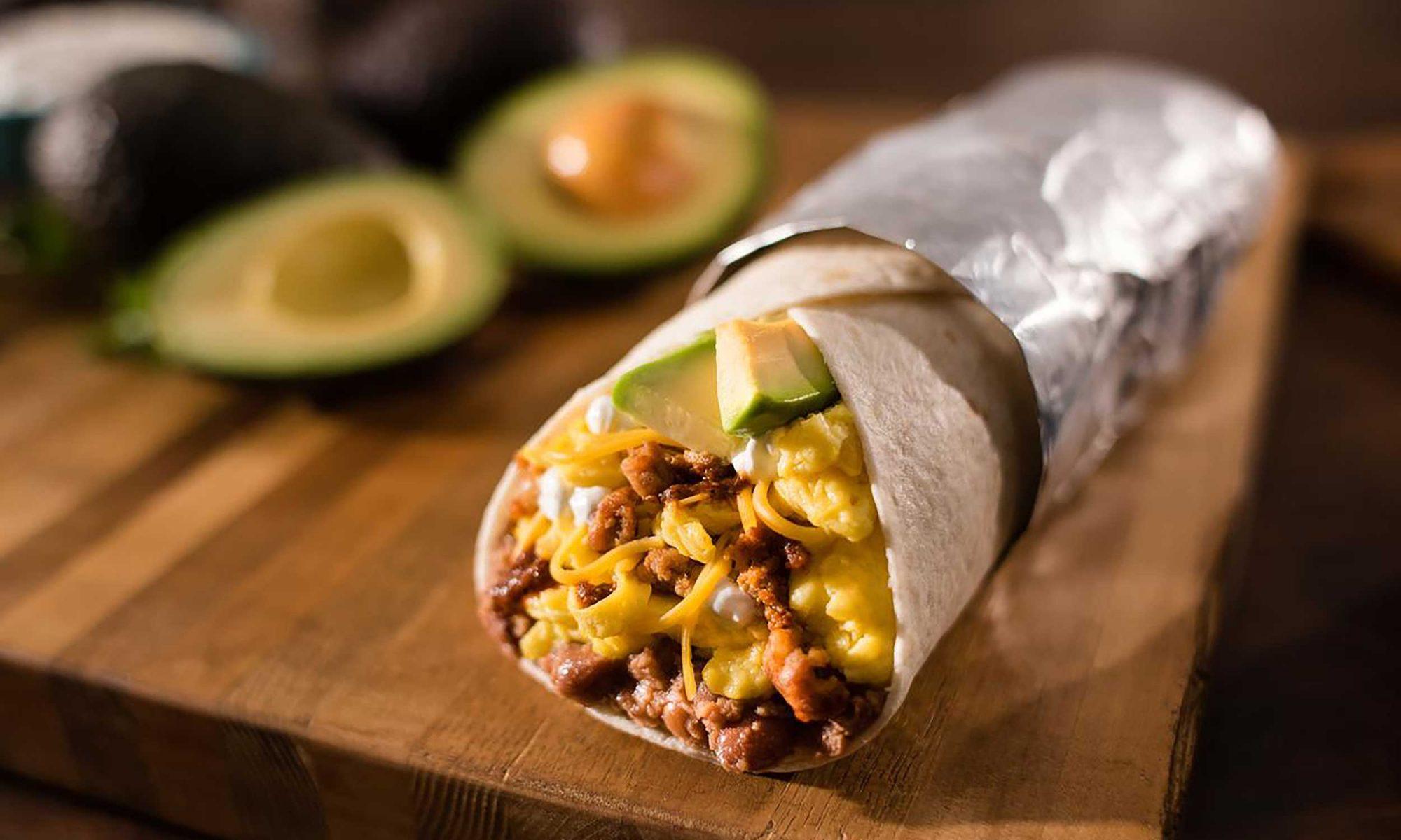 EC: Del Taco's New One-Pound Breakfast Burrito Only Costs $4.99
