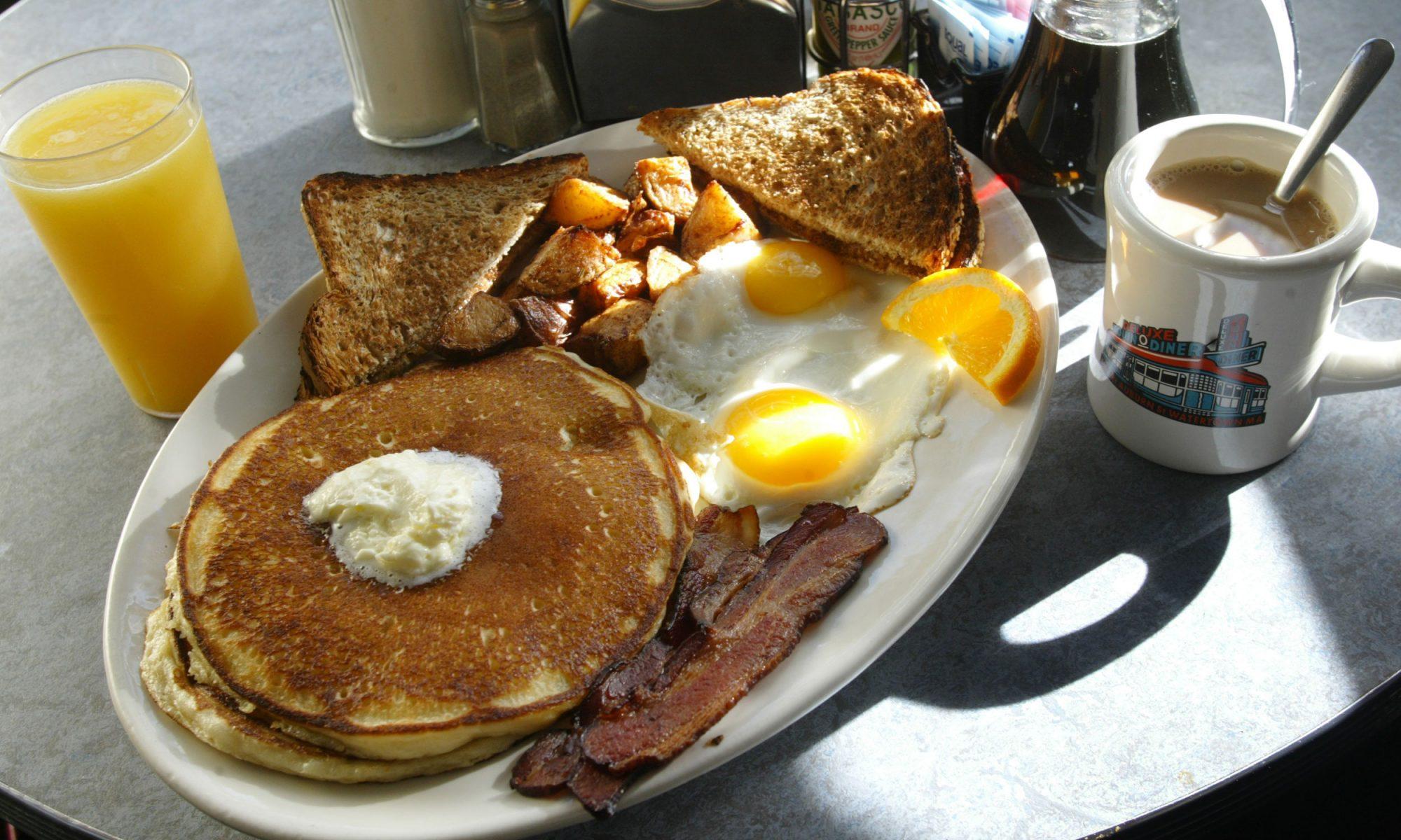 full diner breakfast