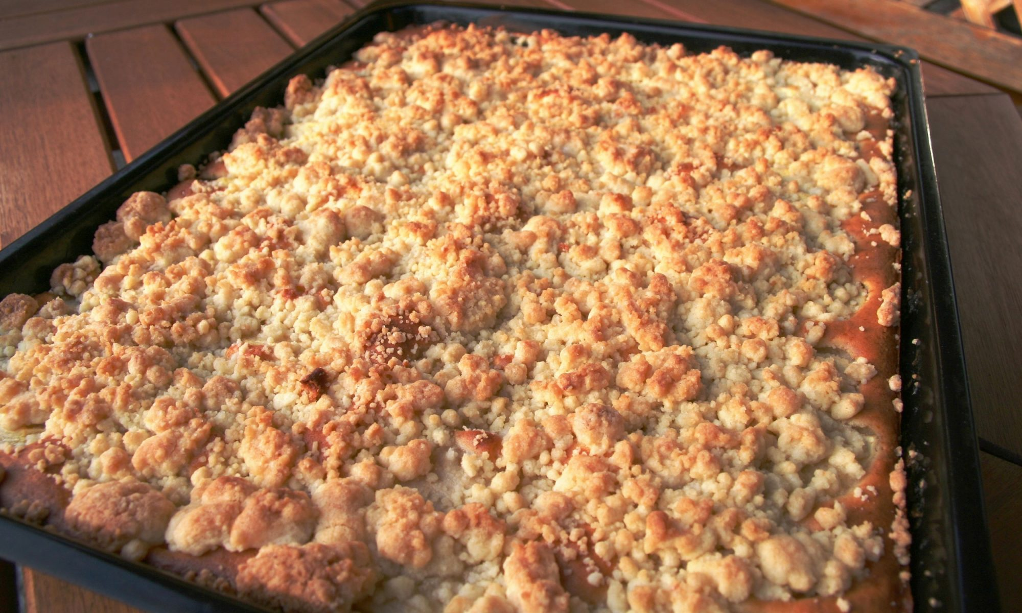 sheet pan crumble