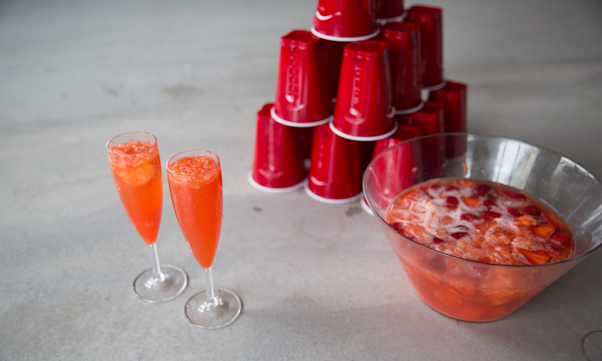 EC: Jungle Juice Mimosas Are Frat House Fancy