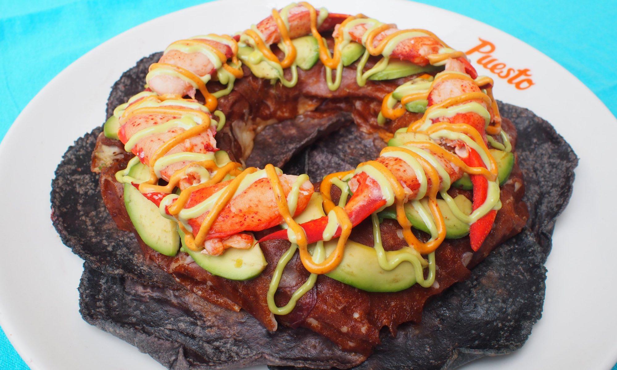 doughnut taco