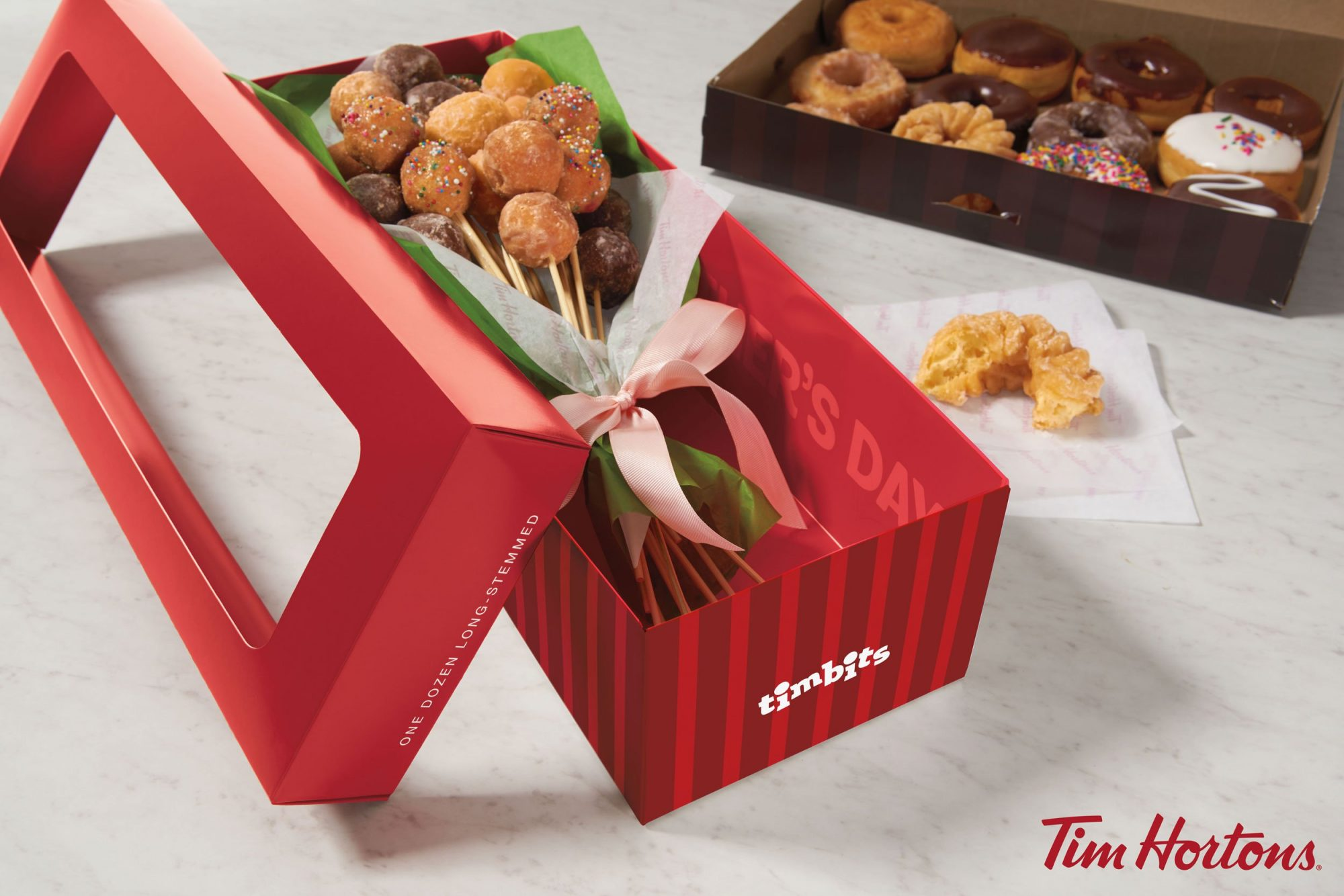EC: Tim Hortons Has a Doughnut Bouquet for Mother's Day