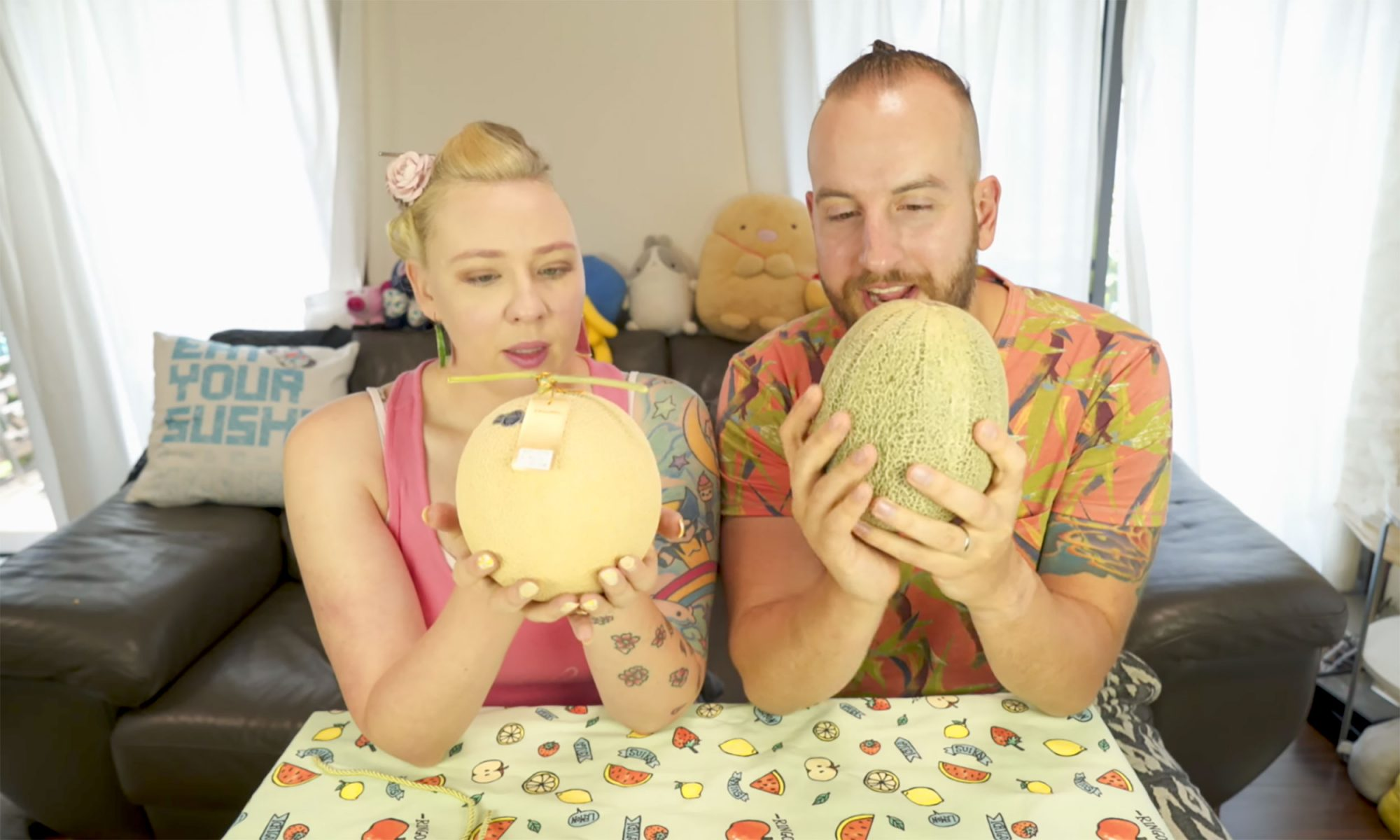 EC: Can You Taste the Difference Between a $140 Melon and a $10 Melon?