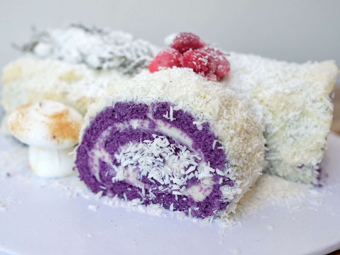 EC: This Purple Yule Log Is the Filipino Holiday Dessert of Your Dreams