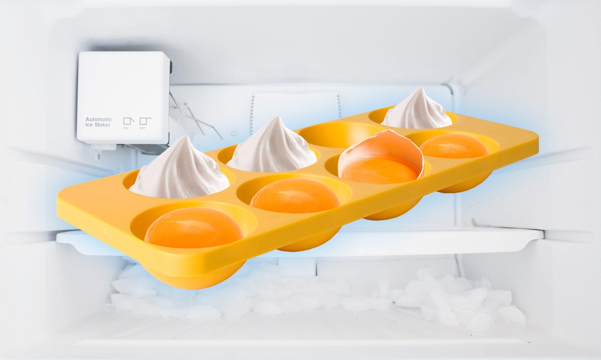 freezer yolk and whites