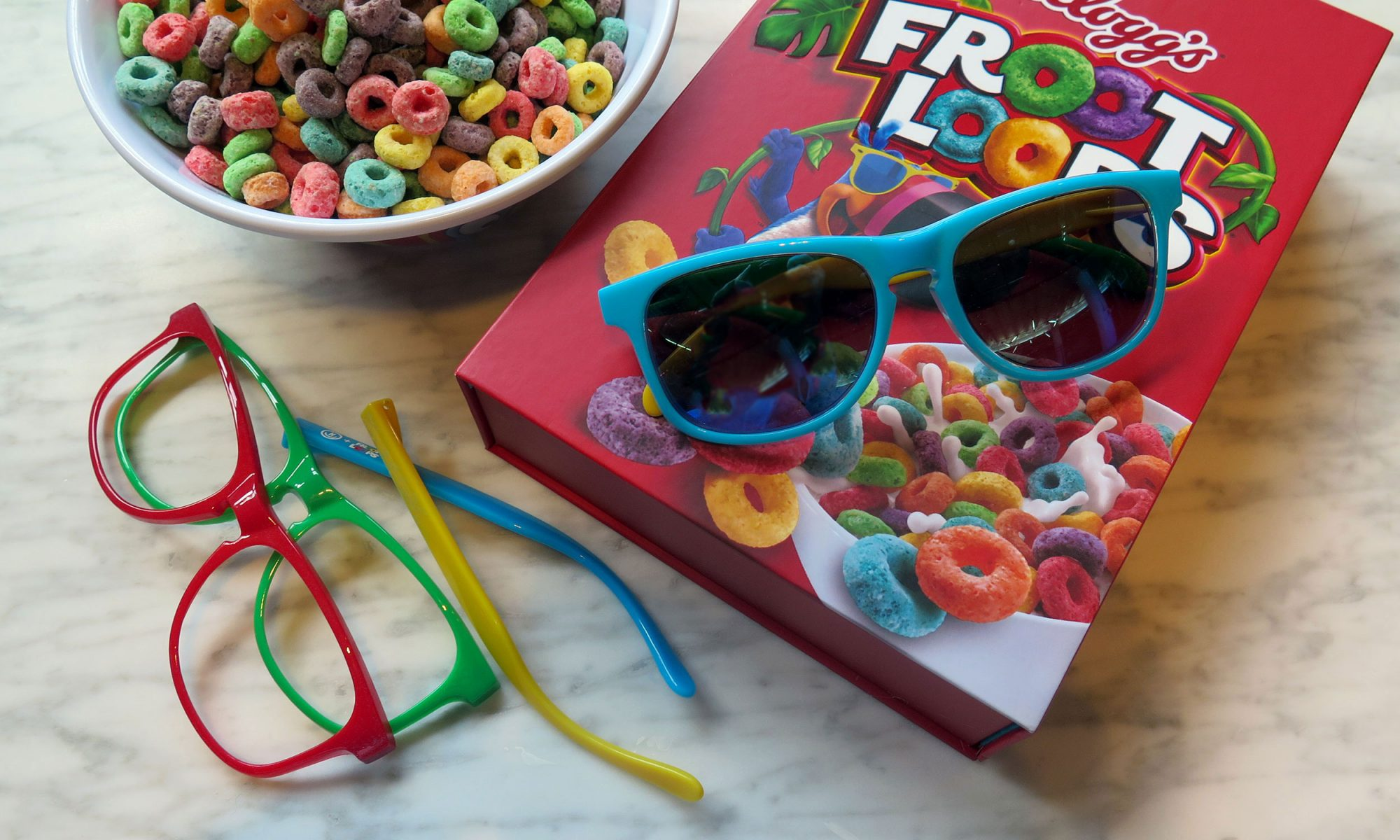 EC: These New Froot Loops Sunglasses Were Designed by Neff
