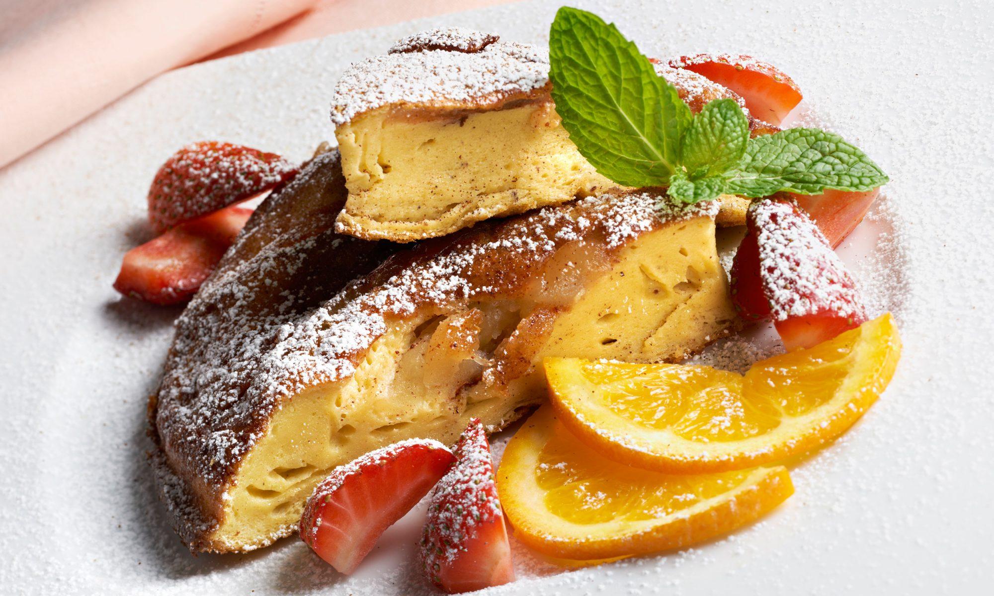 fruit frittata