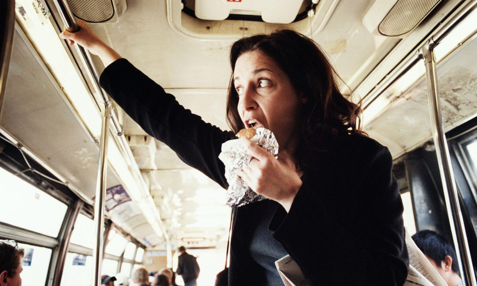 EC: Do Not Eat Your Yogurt on the Subway