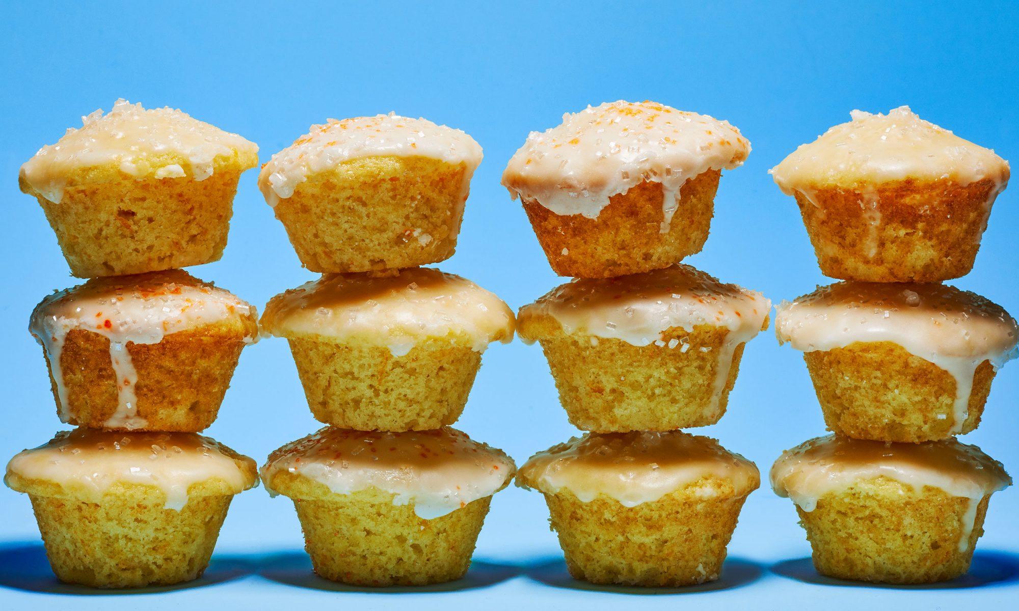 Mini Mimosa Muffins