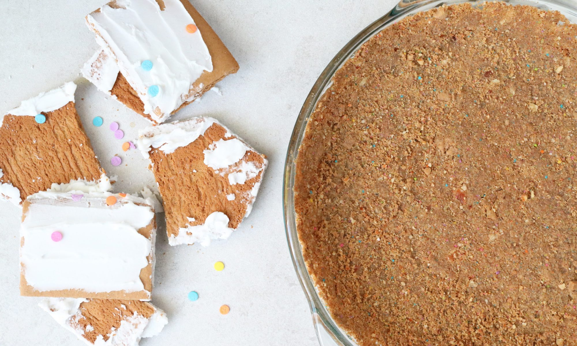 Gingerbread House Pie Crust